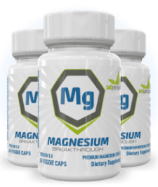 3 Bottles of Magnesium
