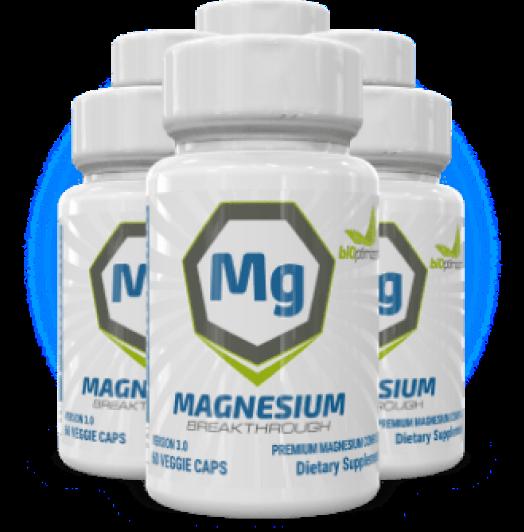 1 Bottle of Magnesium